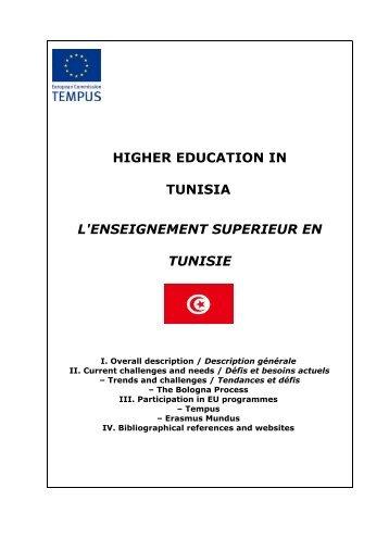 Tunisia Tempus country fiche - EU Neighbourhood Info Centre