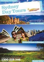 Australia-AAT Kings Sydney Day Tours 2013-14 - msltravel.com