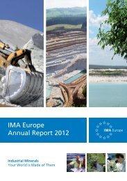 IMA Annual Report 2012.pdf - IMA Europe