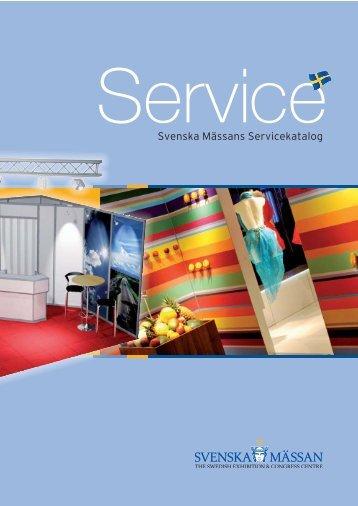Svenska Mässans Servicekatalog