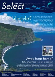 ISC Lifestyle? - Astra Tech