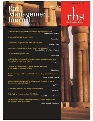 RMJ (July 2011) - Vol 8 Issue 2:RBS Journal.qxd.qxd