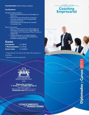Coaching Empresarial - Universidad Iberoamericana León