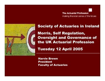 Presentation - Society of Actuaries in Ireland