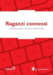 Ragazzi connessi - Save the Children Italia Onlus