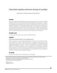 Enfermedades ampollosas autoinmunes del grupo de los pénfigos