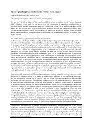 De conceptuele spiraal als alternatief voor de ... - Rijnland Weblog
