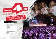 Jaarverslag 2010 DANCE4LIFE NL