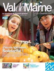 ValdeMarne n°274 / Décembre 2010 - Conseil général du Val-de ...