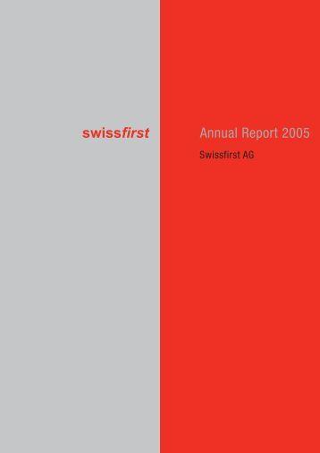 Annual Report 2005 - Bank am Bellevue