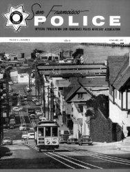 November 1959 - San Francisco Police Officers Association