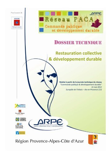 Restauration collective & développement durable - Agence ...