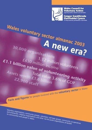voluntary sector - WCVA