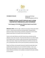 Lexus Partner Release_Floform_FINAL_1072008 - Cambria