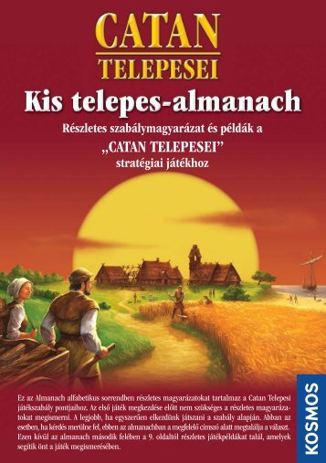 CATAN telepesei Almanach - Okostojasjatek.hu