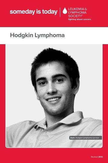 Hodgkin Lymphoma - The Leukemia & Lymphoma Society