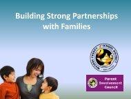 Parent Involvement? Elmcrest Elementary August 21, 2008