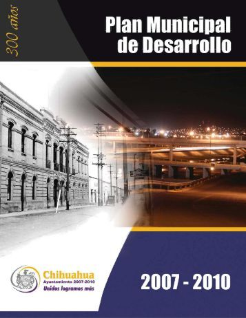 Plan Municipal de Desarrollo 2007-2010 - Transparencia ...