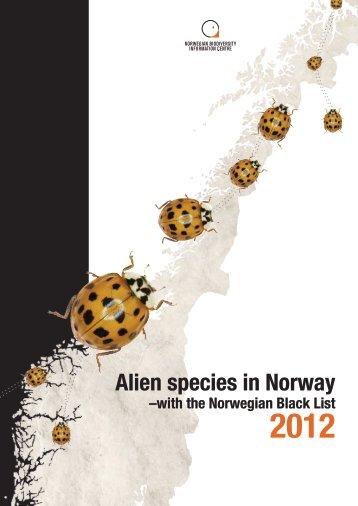 Download Alien species in Norway - with the Norwegian ... - besafe