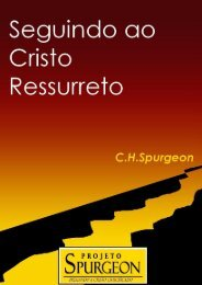 Seguindo ao Cristo Ressurreto - Projeto Spurgeon