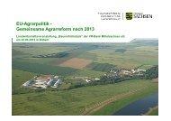 EU-Agrarpolitik - Gemeinsame Agrarreform nach 2013 - VR-Bank ...