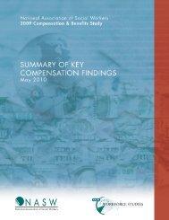 2009 Compensation & Benefits Study - Center for Workforce Studies ...