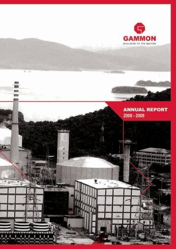 Annual Report 2008-2009 - Gammon India