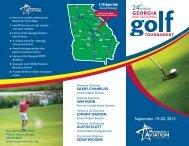 2013 Georgia Invitational Golf Tournament Brochure - Museum of ...