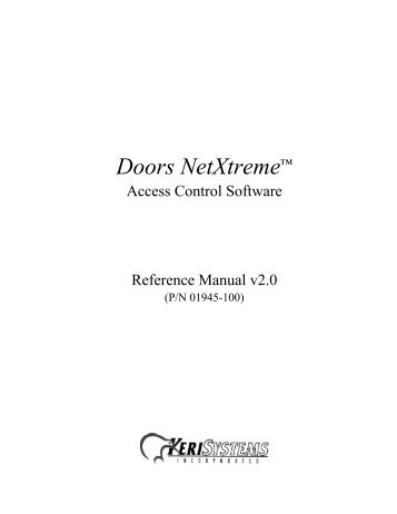 doors netxtremea reference manual keri systems?quality\=85 keri access control wiring diagram keri pxl 500 reset \u2022 indy500 co Magnetic Door Locks Access Control at creativeand.co