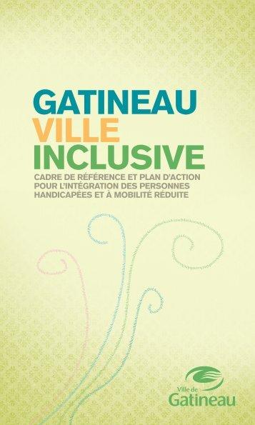 Cadre de référence - Ville de Gatineau