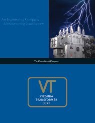 An Engineering Company Manufacturing Transformers - Virginia ...