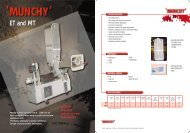 New Munchy Datasheets 8/99 (Page 2) - Flexocon AG
