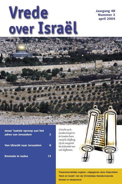 ook beschikbaar als pdf-bestand (545k) - Kerk en Israël