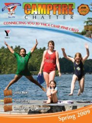 Spring 2009 - YMCA of Greater Toronto