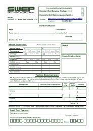 Soil sample info.pdf - Swep