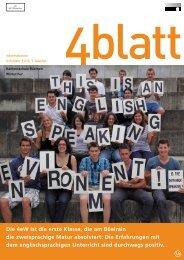 4blatt Nr. 45 - Kantonsschule Büelrain, Winterthur