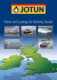 Paints and Coatings for Working Vessels - SML Marine Paints