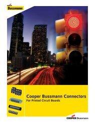 Cooper Bussmann Connectors Product Profile - Cooper Industries