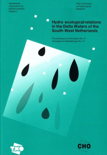 Hydro-ecological relations in the Delta Waters