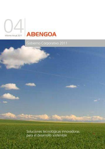 27/02/12 Informe Anual de Gobierno Corporativo 2011 1 ... - Abengoa