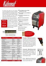 65A 90A - Schweisswelt
