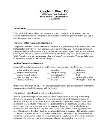 Informed Consent / Videorecord Release Form Asl
