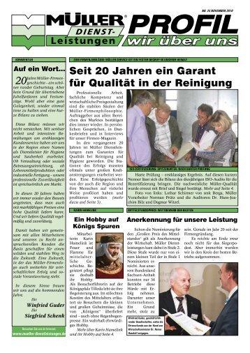 Seit 20 Jahren ein Garant für Qualität in der Reinigung - Müller ...