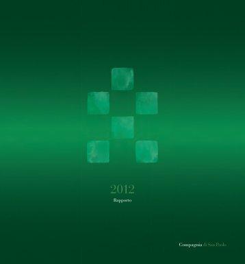 Rapporto annuale 2012 - Compagnia di San Paolo