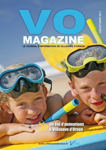 Téléchargez le VO Magazine Juillet Août 2011 ... - Villenave d'Ornon