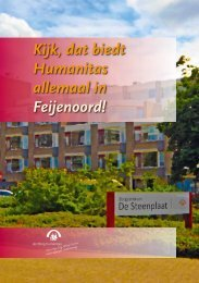 Regiobrochure Humanitas-Feijenoord - Stichting Humanitas