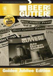 GUTTER PRESS BEER - Newark CAMRA