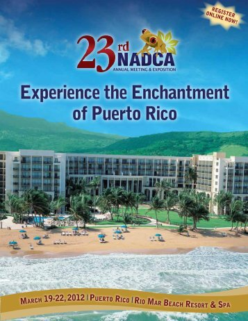 Experience the Enchantment of Puerto Rico - NADCA