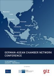 GERMAN-ASEAN CHAMBER NETWORK CONFERENCE