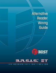 Alternative Reader Wiring Guide - Best Access Systems